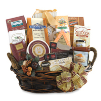Which holiday gourmet gift basket would you like to receive most?