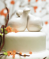 How do you feel about animal wedding cake toppers?