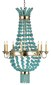 Serena Chandelier: Beach Decor, Coastal Home Decor, Nautical Decor, Tropical Island Decor & Beach Cottage Furnishings