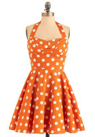 @Modcloth Traveling Cupcake Dress - are the dots sprinkles?