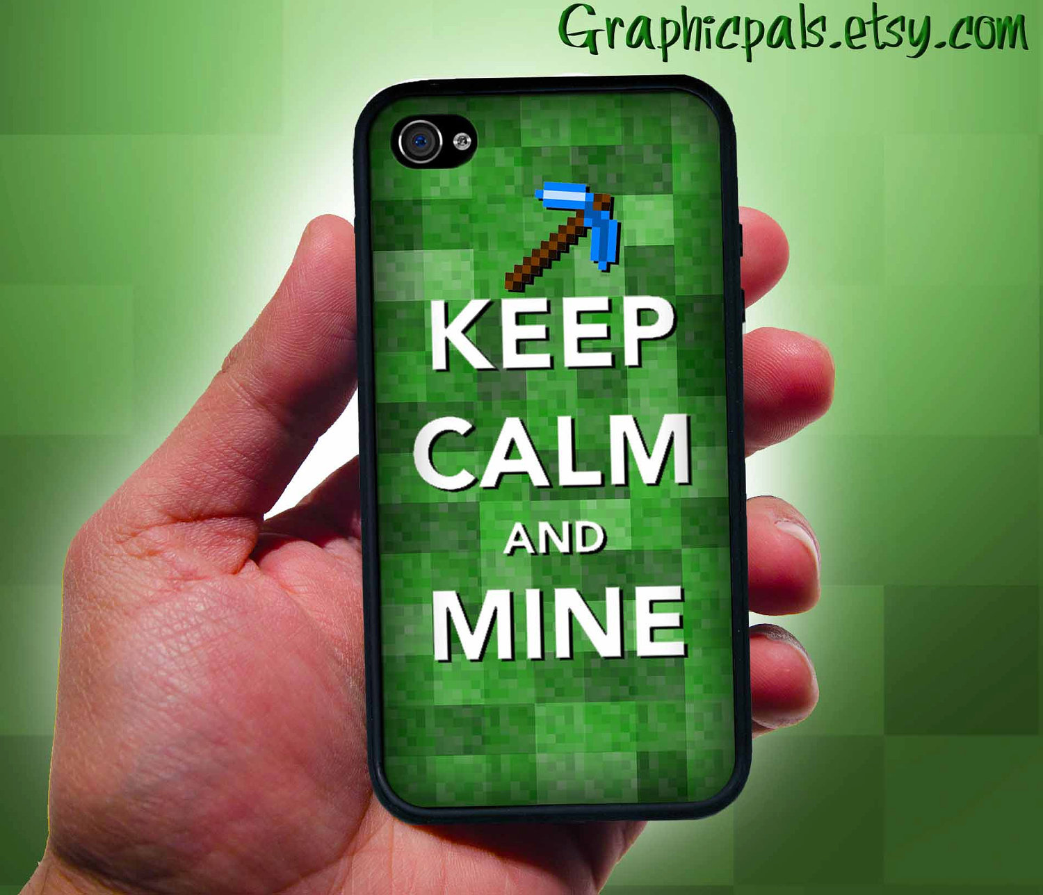 Minecraft Iphone 5 Minecraft cover for the iphone